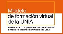 Modelo de E-A Virtual de la UNIA